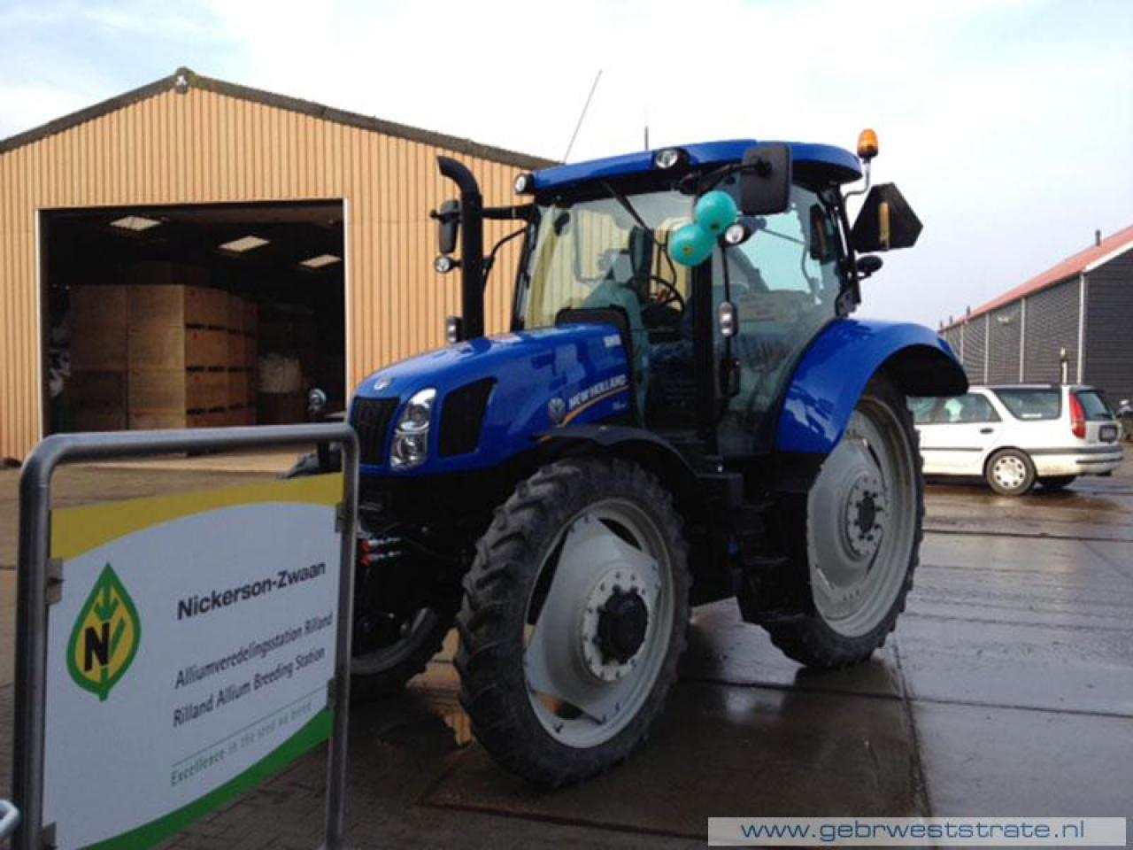 New Holland T6140 afgeleverd