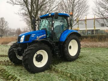 New Holland T6.140 afgeleverd in Ouwerkerk