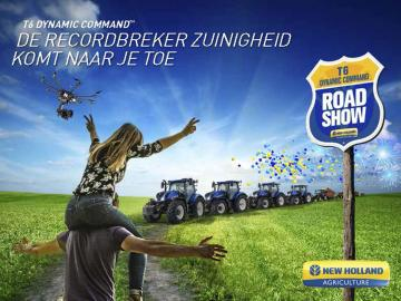 New Holland T6 Dynamic Command Roadshow