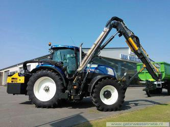 New Holland T7 voor Zandee Kloetinge
