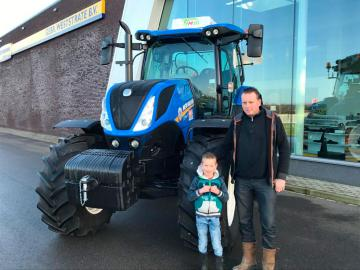 New Holland T7.165 voor KMS