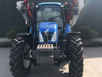 New Holland t5.115 voor boomkwekerij Bogers