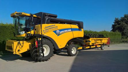 New Holland CX combine