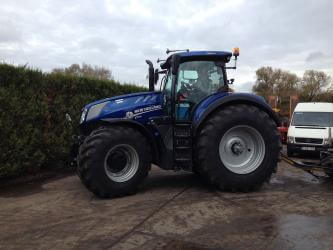 New Holland T7.315 afgeleverd